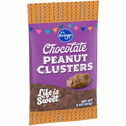 Kroger® Chocolate Peanut Clusters Perspective: front