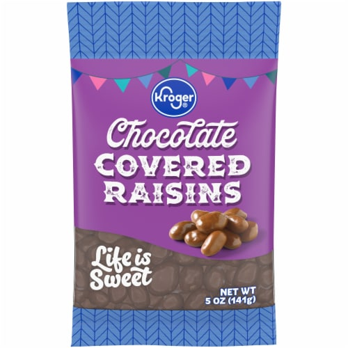 Kroger® Chocolate Covered Raisins Perspective: front