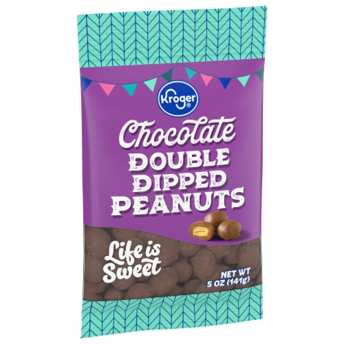 Kroger® Chocolate Double Dipped Peanuts Perspective: front