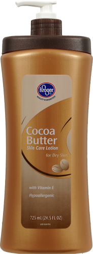 Kroger® Cocoa Butter Lotion Perspective: front