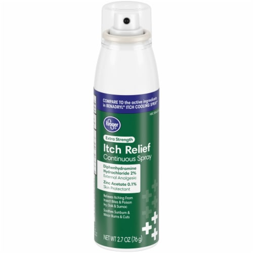 Kroger® Extra Strength Itch Relief Spray Perspective: front