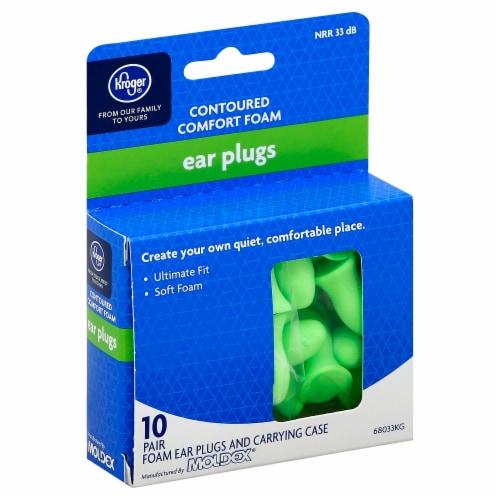 Kroger® Contoured Comfort Foam Ear Plugs Perspective: front