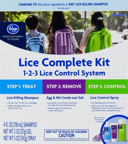 Kroger® Lice Complete Kit Perspective: front