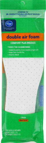 Kroger®  Double Air Foam Insoles Perspective: front
