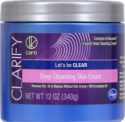Kroger® Clarify Deep Cleansing Skin Cream Perspective: front