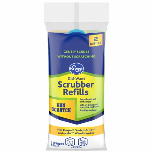 Kroger® Scrubber Refill 2 Pack Perspective: front