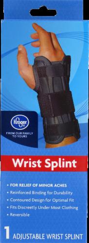 Kroger®  Adjustable Wrist Splint Perspective: front