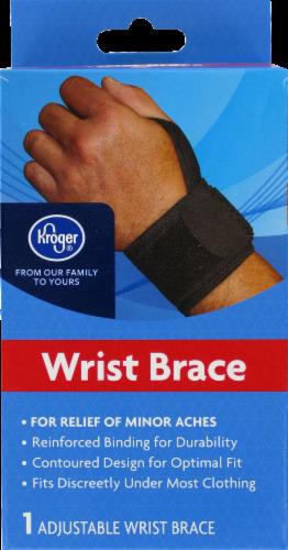 Kroger® Adjustable Wrist Support Perspective: front