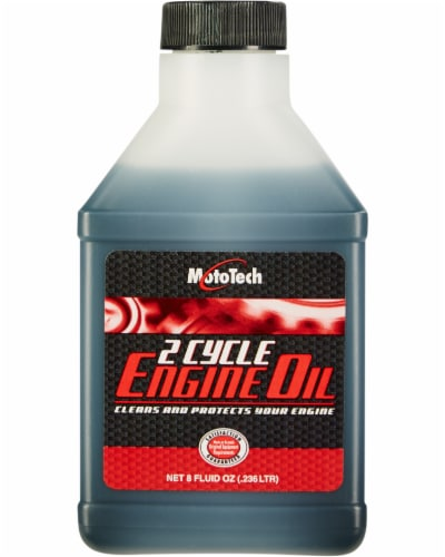 Mototech Two-Cycle Engine Oil Perspective: front
