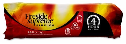 Fireside Supreme 4 Hour Firelog Perspective: front