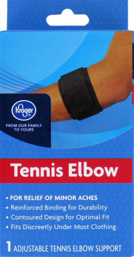 Kroger® Tennis Elbow Support Perspective: front