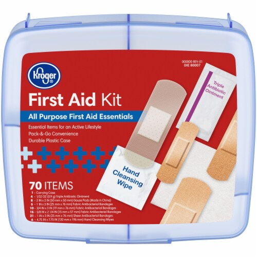 Kroger® First Aid Kit Perspective: front