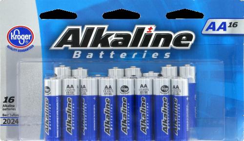 Kroger® AA Alkaline Batteries Perspective: front