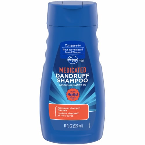 Kroger® Medicated Dandruff Shampoo Perspective: front