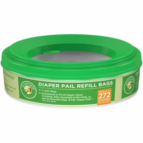 Comforts™ Diaper Pail Refill Bags Perspective: front