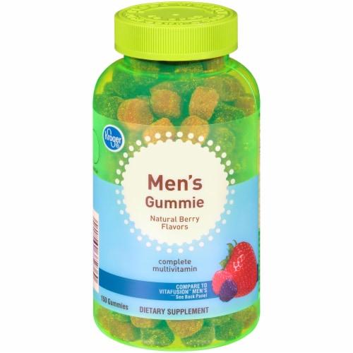 Kroger® Men's Natural Berry Multivitamin Gummies Perspective: front