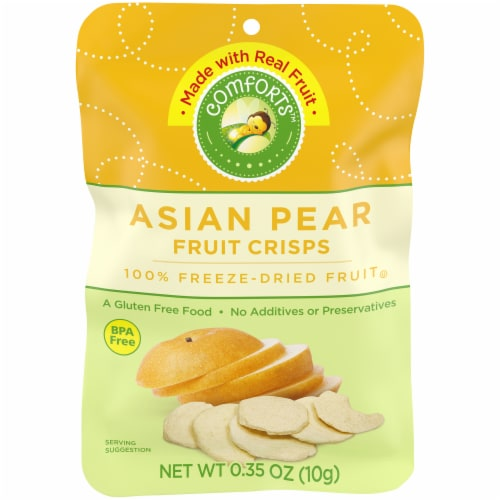 Comforts™ Asian Pear Fruit Crisps Perspective: front