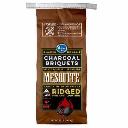Kroger® Mesquite Ridged Charcoal Briquets Perspective: front