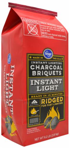 Kroger® Instant Light Ridged Charcoal Briquets Perspective: front