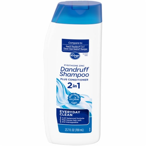 Kroger® Everyday Clean 2 in 1 Dandruff Shampoo Plus Conditioner Perspective: front
