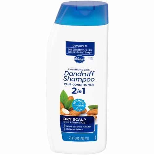 Kroger® Dry Scalp 2 in 1 Dandruff Shampoo Plus Conditioner Perspective: front