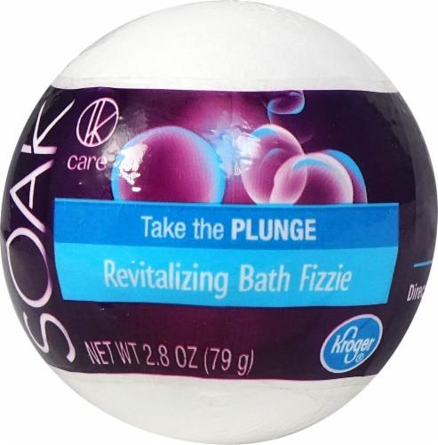 Kroger Revitalizing Bath Fizzie Perspective: front
