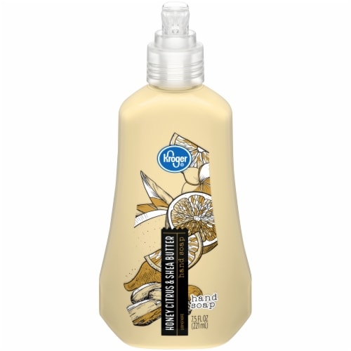 Kroger® Honey Citrus & Shea Butter Liquid Hand Soap Perspective: front