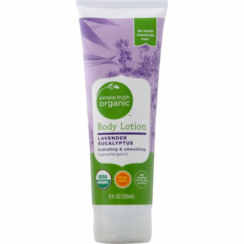 Simple Truth Organic™ Lavender Eucalyptus Body Lotion Perspective: front