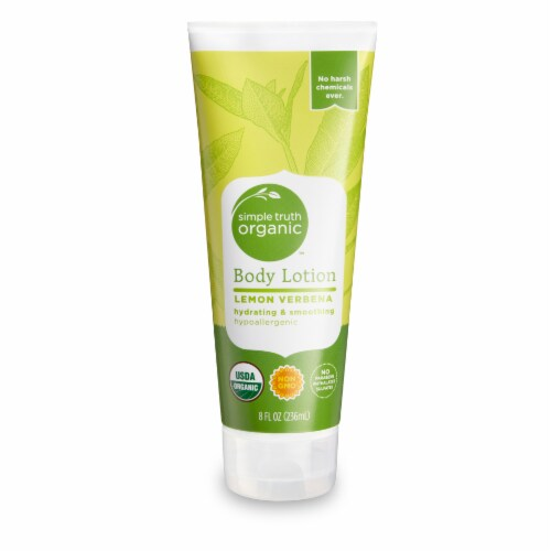 Simple Truth Organic™ Lemon Verbena Body Lotion Perspective: front