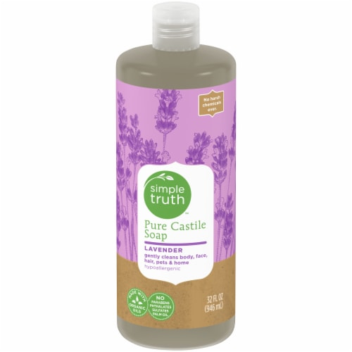 Simple Truth™ Lavender Pure Castile Soap Perspective: front