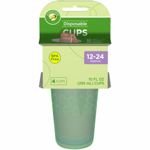 Comforts™ Disposable Cups Perspective: front
