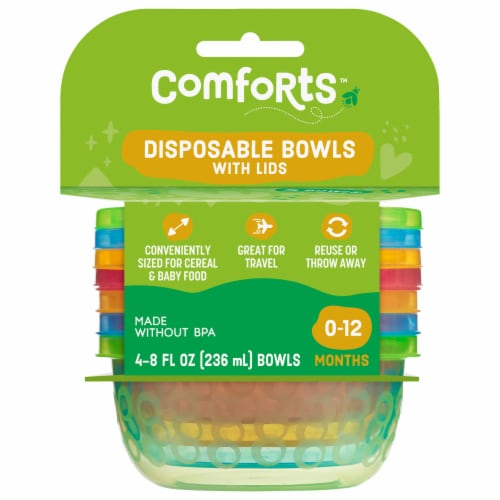 Comforts™ Disposable Bowls Perspective: front
