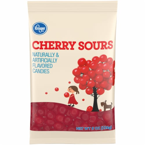 Kroger® Cherry Sours Candies Perspective: front
