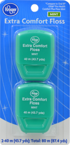 Kroger®  Mint Extra Comfort Floss Perspective: front