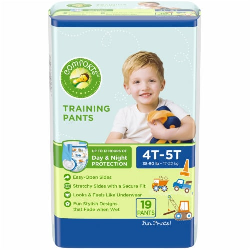 Comforts™ Day & Night 4T-5T Boys Training Pants Perspective: front