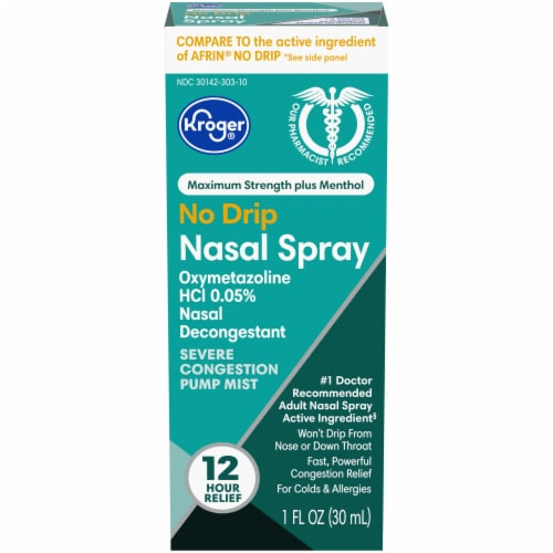 Kroger® Severe Congestion Nasal Spray Perspective: front