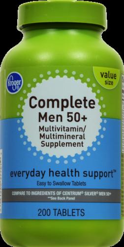 Kroger® Complete Men 50+ Multivitamin Perspective: front