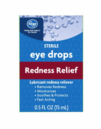 Kroger - Kroger® Red Relief Eye Drops Lubricant, 0.5 fl oz