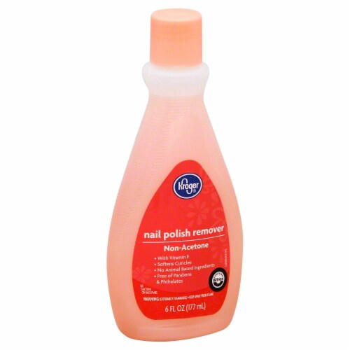 Kroger® Non Acetone Nail Polish Remover Perspective: front