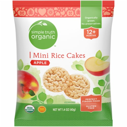 Simple Truth Organic™ Apple Mini Rice Cakes Perspective: front