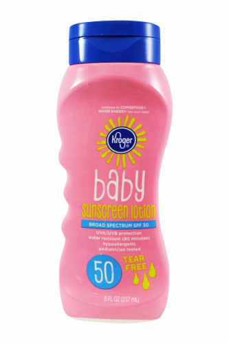 Kroger Baby Sunscreen  Lotion SPF 50 Perspective: front