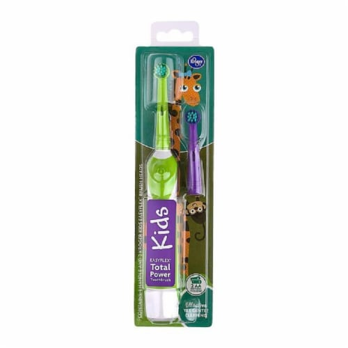 Kroger® Kids EasyFlex Total Power Toothbrush Perspective: front