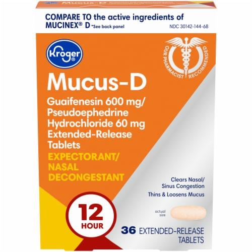 Kroger® Mucus-D Perspective: front
