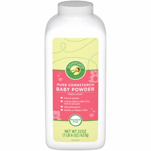 Comforts™ Fresh Scent Pure Cornstarch Baby Powder Perspective: front