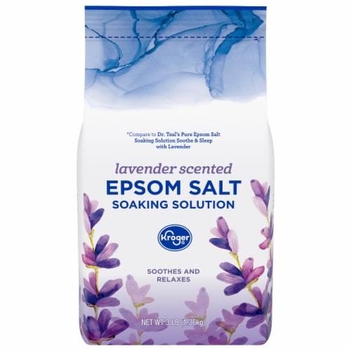 Kroger® Relax Lavender Epsom Salt Perspective: front