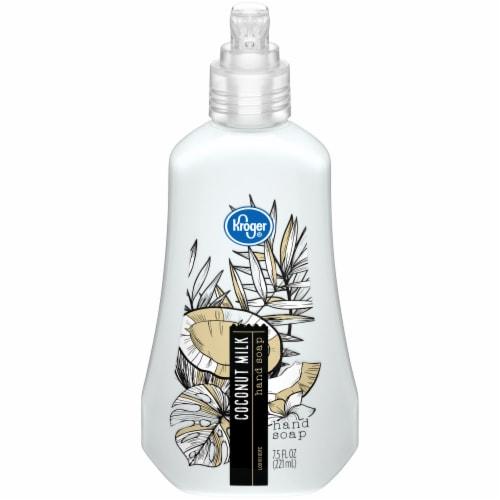 Kroger® Creamy Coconut Milk Liquid Hand Soap Perspective: front