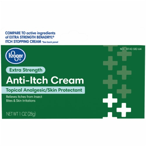 Kroger®  Extra Strength Anti-Itch Cream Perspective: front