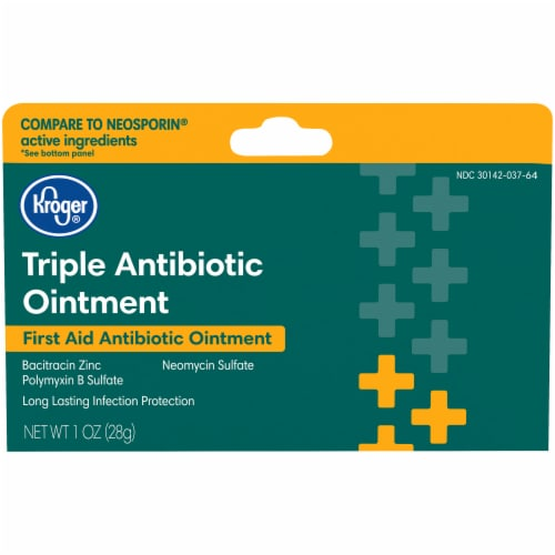 Kroger® Triple Antibiotic Ointment Perspective: front