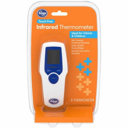 Kroger® Touch Free Infrared Thermometer Perspective: front