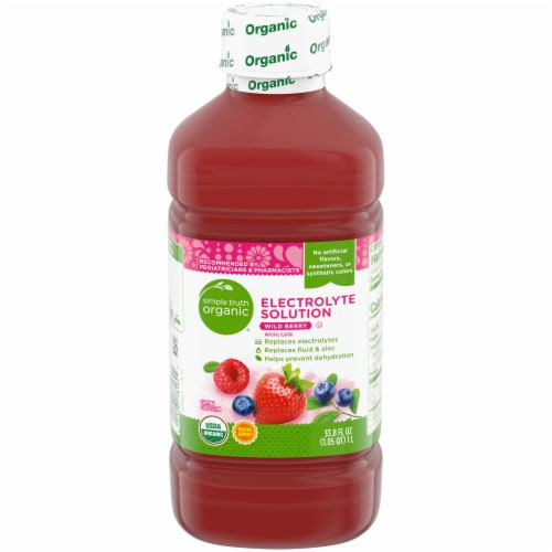 Simple Truth Organic™ Wild Berry Electrolyte Solution Perspective: front